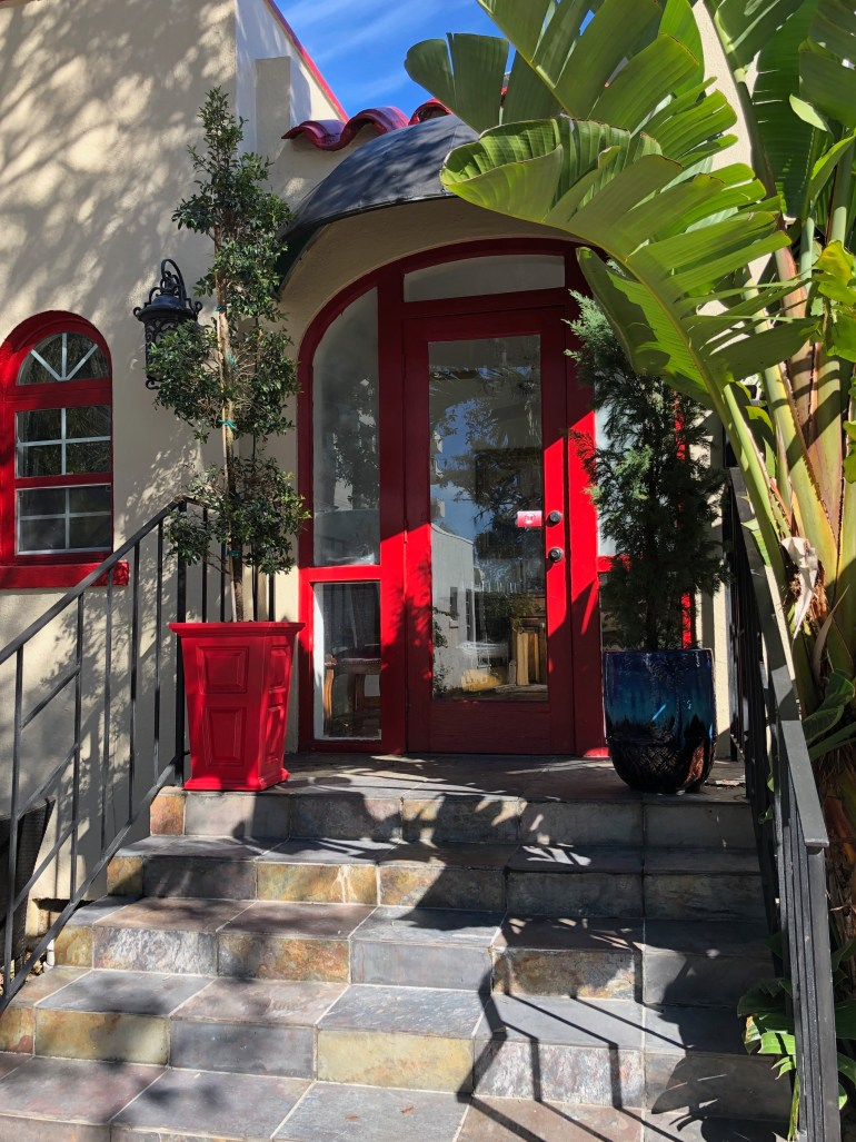 burns-court-sarasota-architecture-red-doors