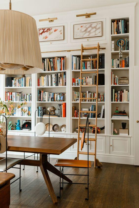 architectural-digest-bookcase-ladder