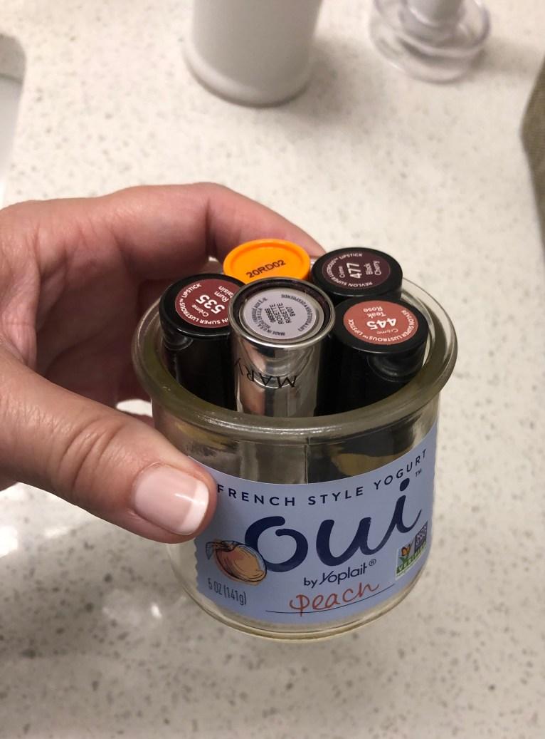 oui-yogurt-jars-littleblackdomicile-organizing-vanities-mini-series