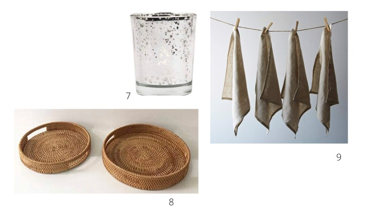 woven trays-linennapkins-votives