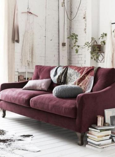 pinterest-dusty-plum-sofa-interior-design-living-room