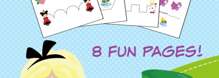 Alice in Wonderland Preschool Printable