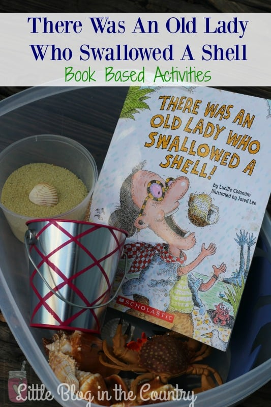 there was an old lady who swallowed a shell unit study