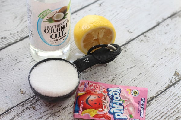 pink lemonade sugar scrub ingredients