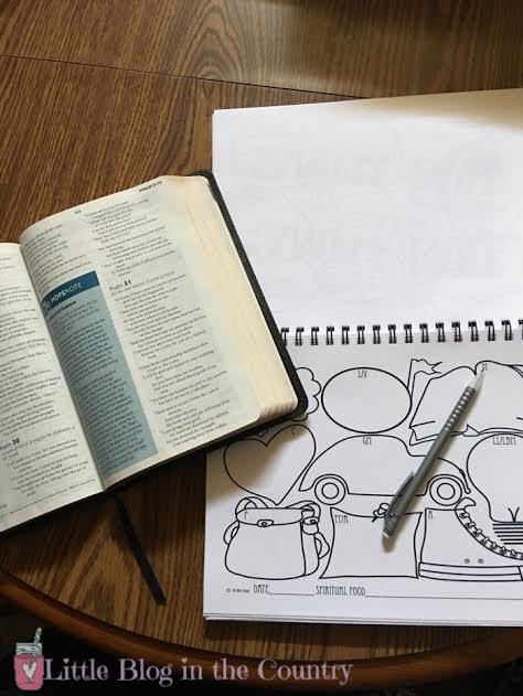kids bibl journaling