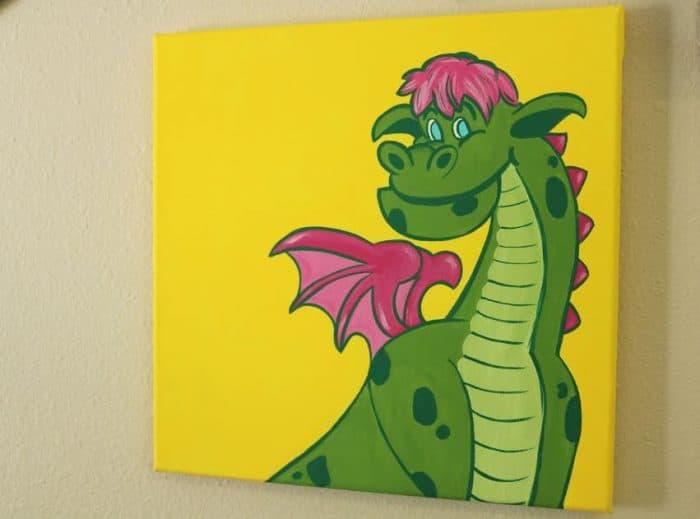 petes dragon side