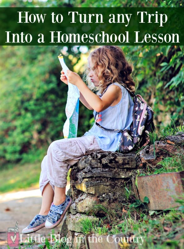 How to Turn Any Trip into a Homeschool Lesson