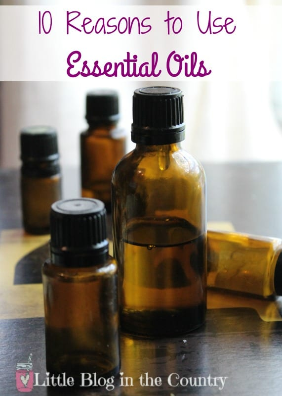 reasons to use essential oils