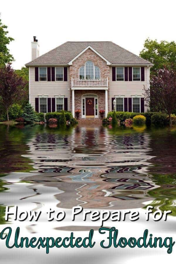 How to prepare for unexpected flooding