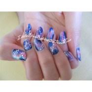 Galaxy Nail Art-5