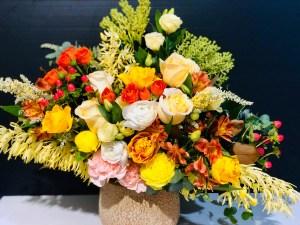 Ceramic Box of Flowers Lot More