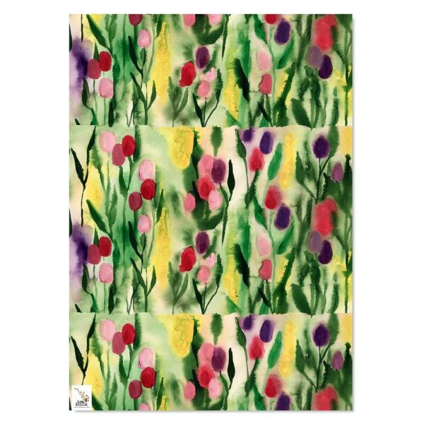 Wrapping Paper - Spring Tulips