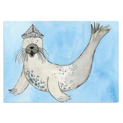 EM Art Print - Tricks the Seal