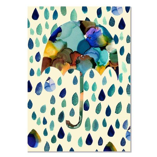 Card - Raining Tears