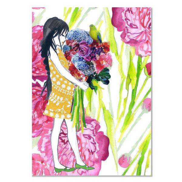 Card - Peony Princess