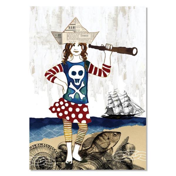 Card - Pirate Anna