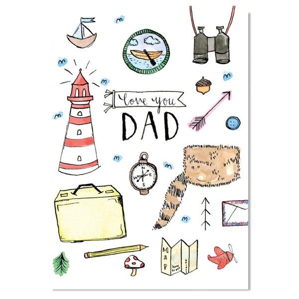 EM Card - Love you Dad