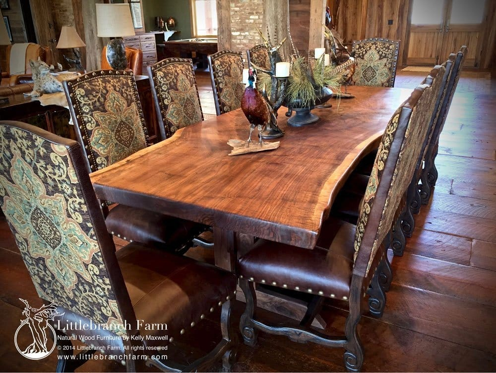 Littlebranch Farm Natural Wood Furniture By Kelly Maxwell