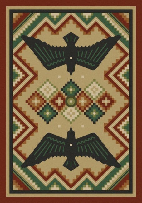 Sunset Dance | Southwestern rugs by American Dakota
