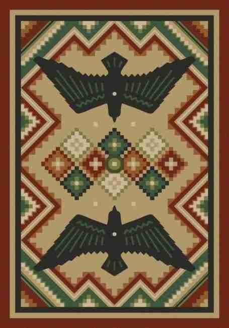 Sunset Dance | Southwestern rugs by American Dakota