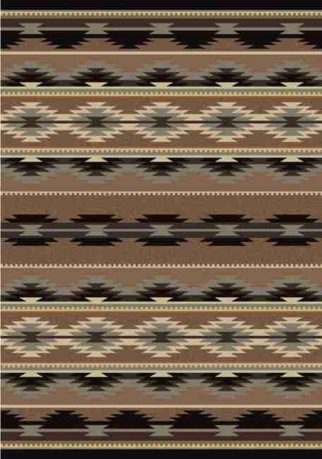 Medicine - Light | Southwestern Rugs by American Dakota