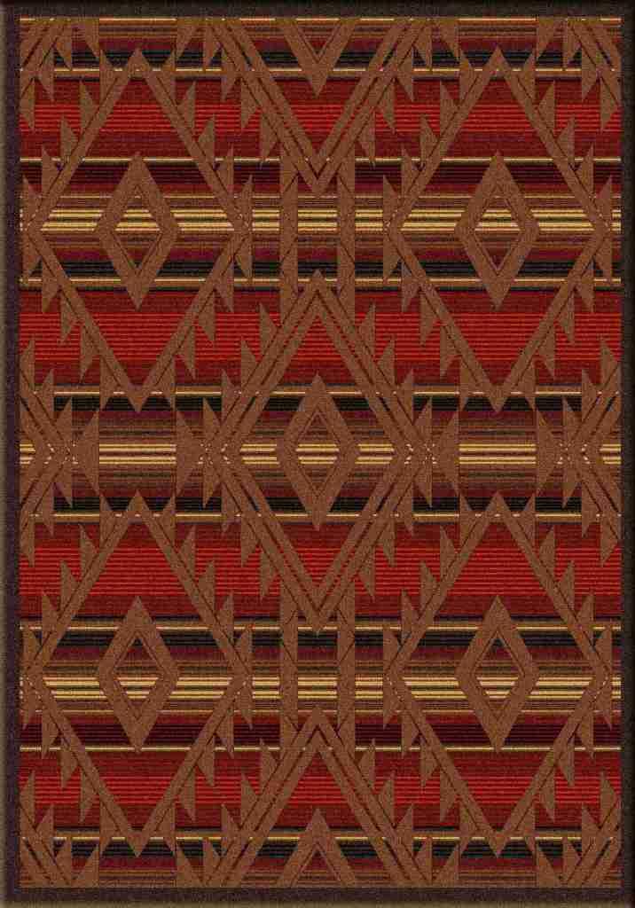 Spirit of Santa Fe - Multi - southwestern rugs | American Dakota Rugs