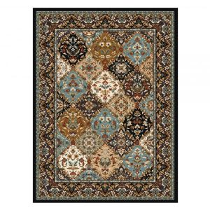 Classic area rug design