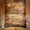 Brown and cream cowhide