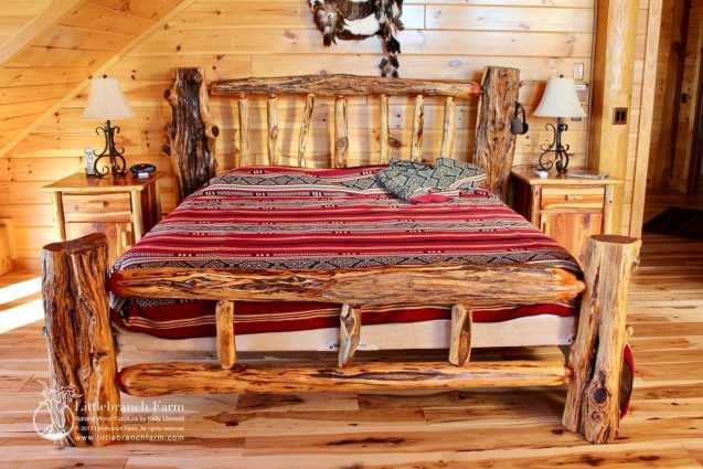 rustic log furniture