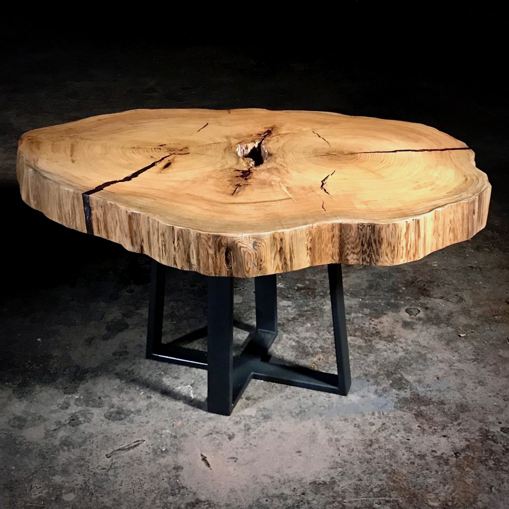 rustic dining table live edge dining