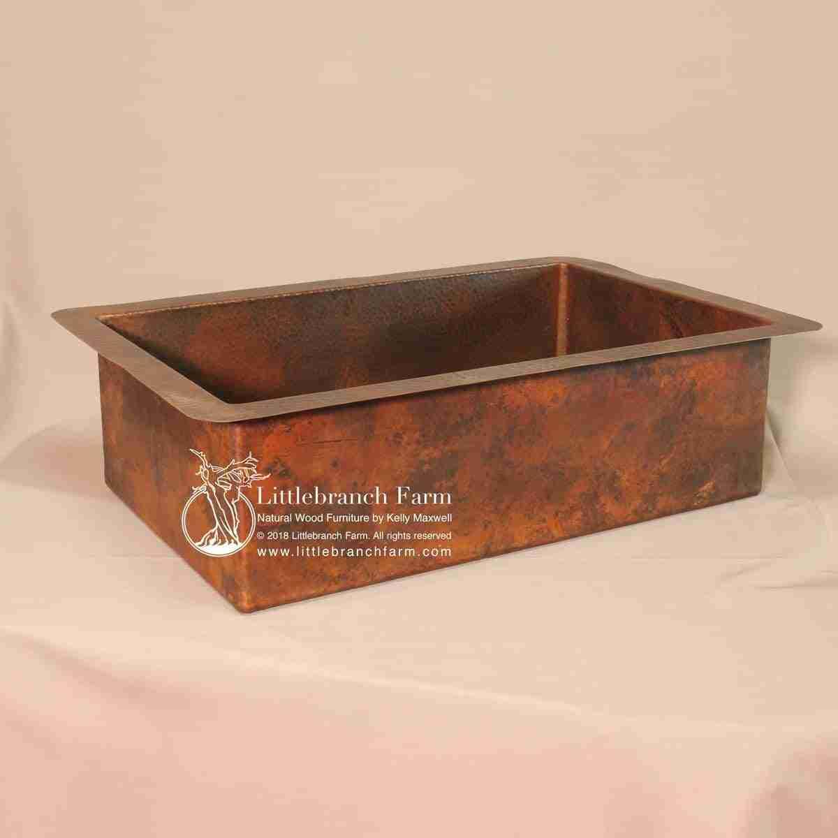 Hammer Copper Kitchen Sink