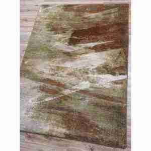 Natural brown to gray rug