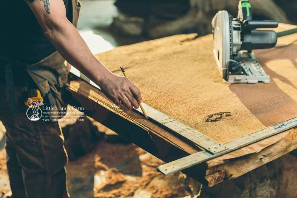 Building real wood furniture