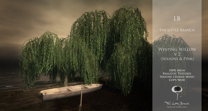 Little Branch Weeping Willow V2 {Seasons + Pink}