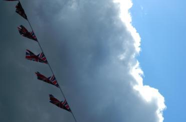 Patriotism, whatever the weather ...