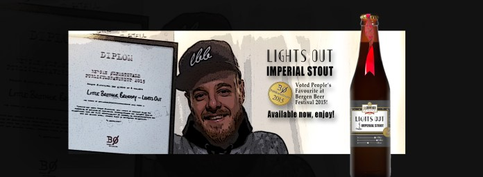 Lights Out Imperial Stout Bergen Beer Festival 2015 Winner People's Choice