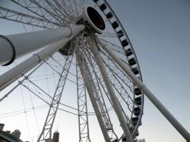 Centennial Wheel at Navy Pier.