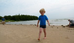Oliver at Whitefish Dunes State Park