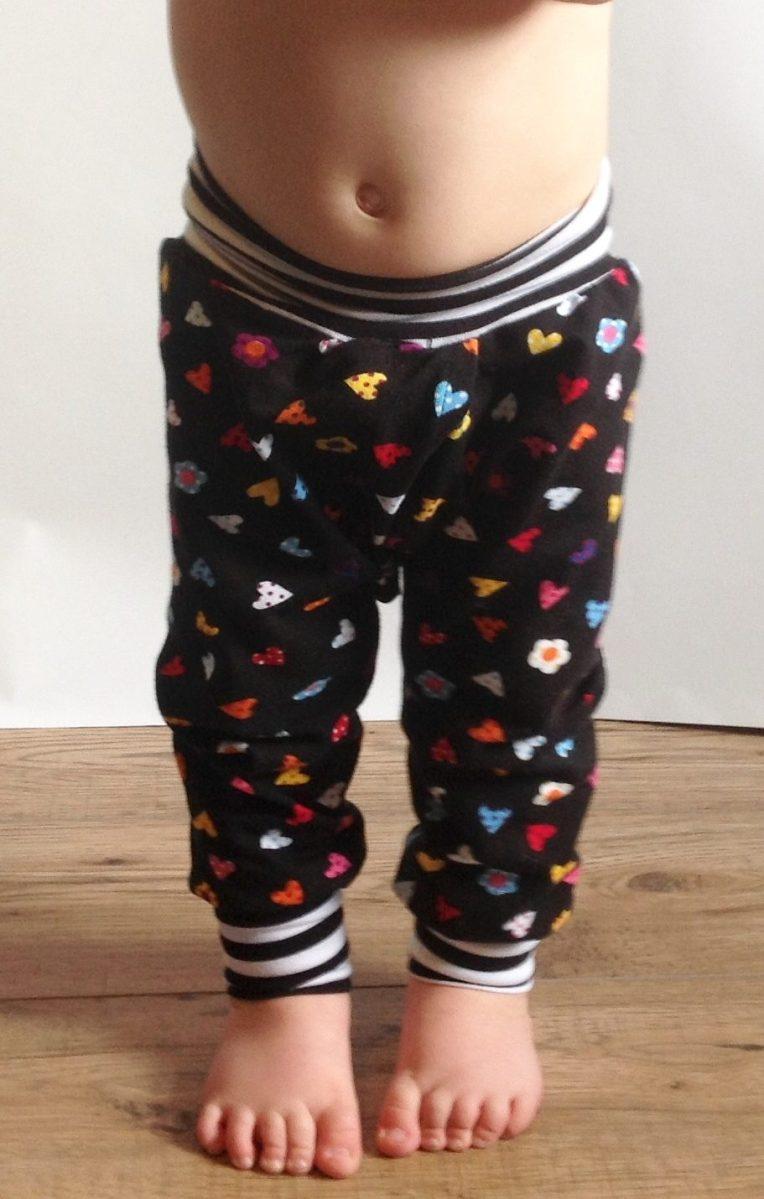 Split crotch baby trousers EC clothing