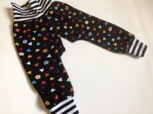 Split crotch baby trousers