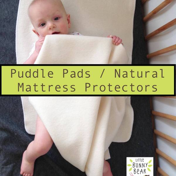 wool puddle pad baby mattress protector