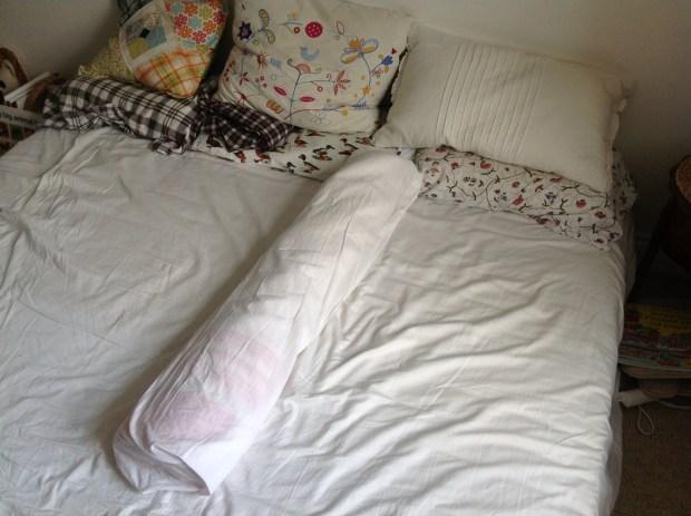 bed bolster, co-sleeping