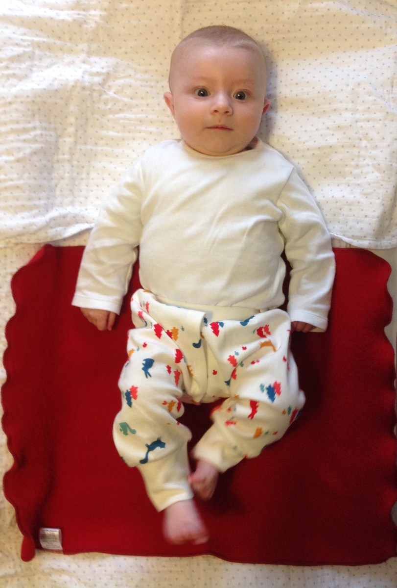 nappy free baby split crotch trousers