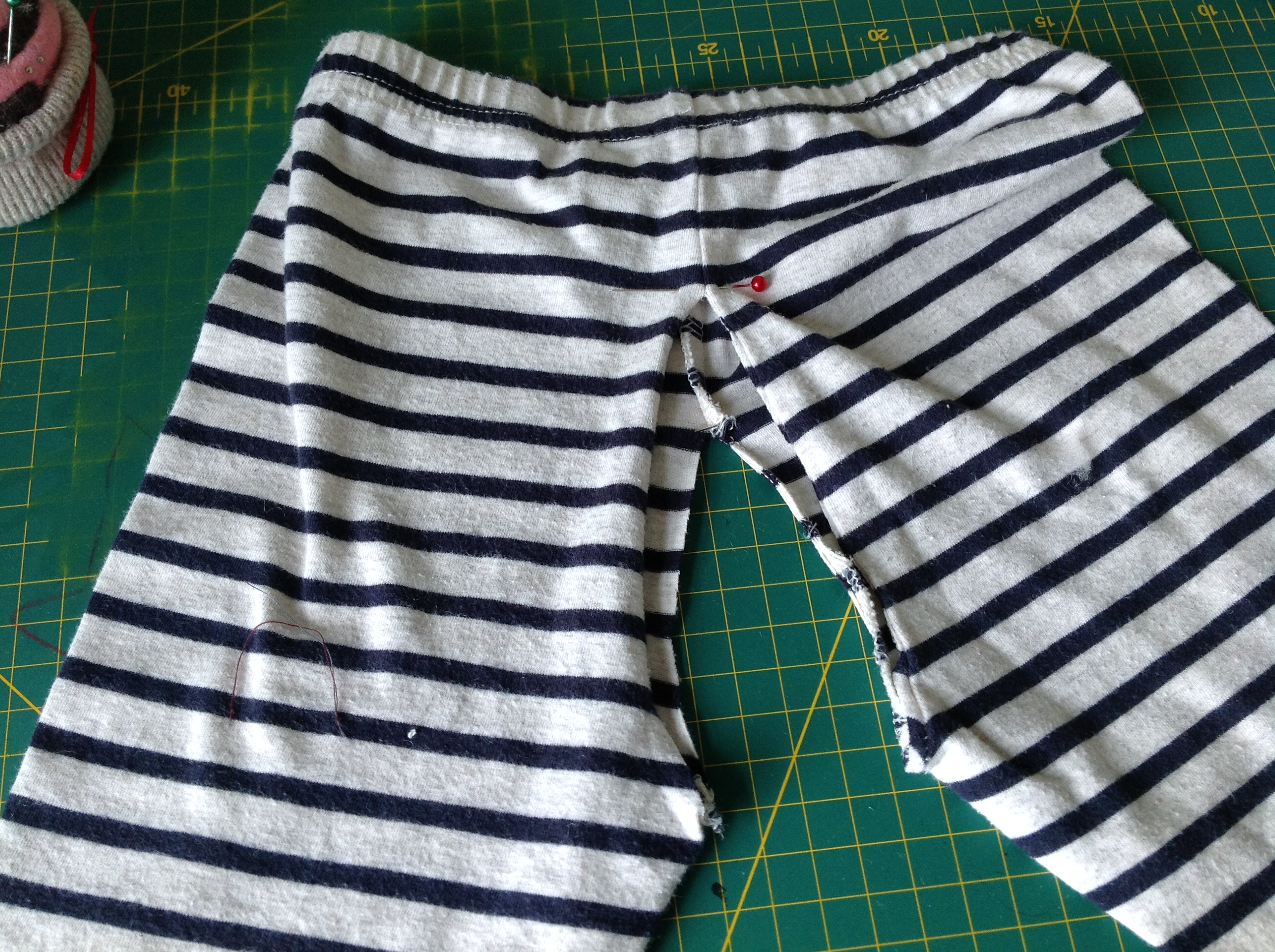 DIY split crotch trousers pants elimination communication clothing