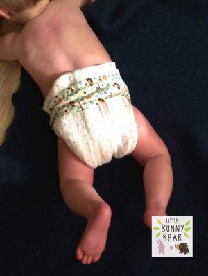 baby pottying nappy belt