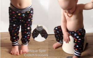 clothing for baby pottying