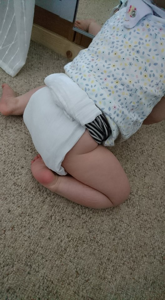 nappy belt and cloth