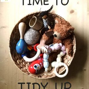 Time to Tidy Up: A place for everything and everything in its place