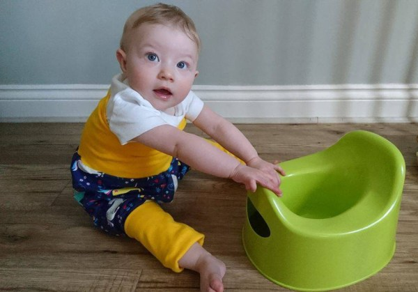the dangers of early potty training