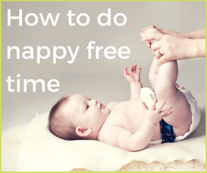 how to do nappy free time